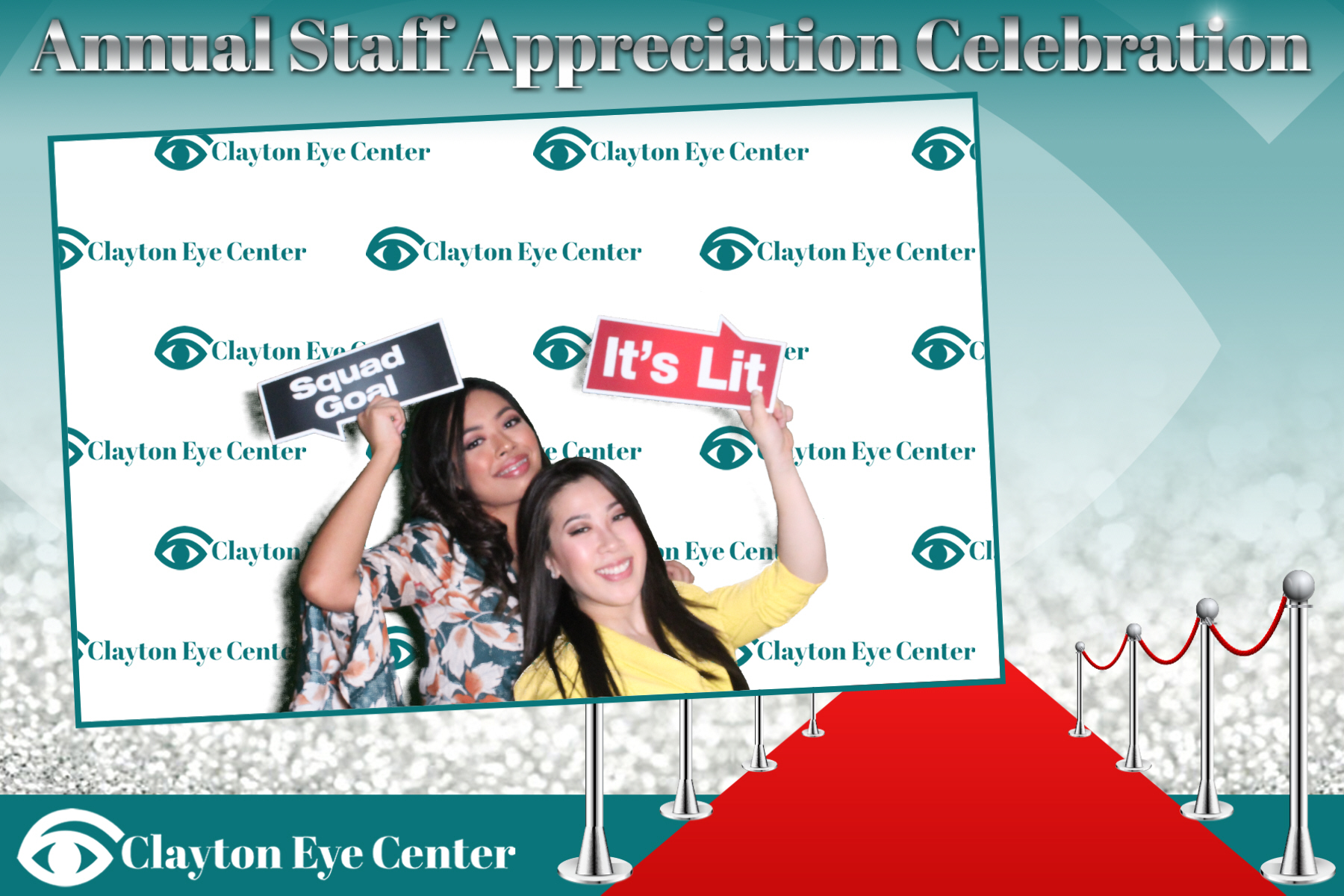 Clayton Eye Center (Step & Repeat)