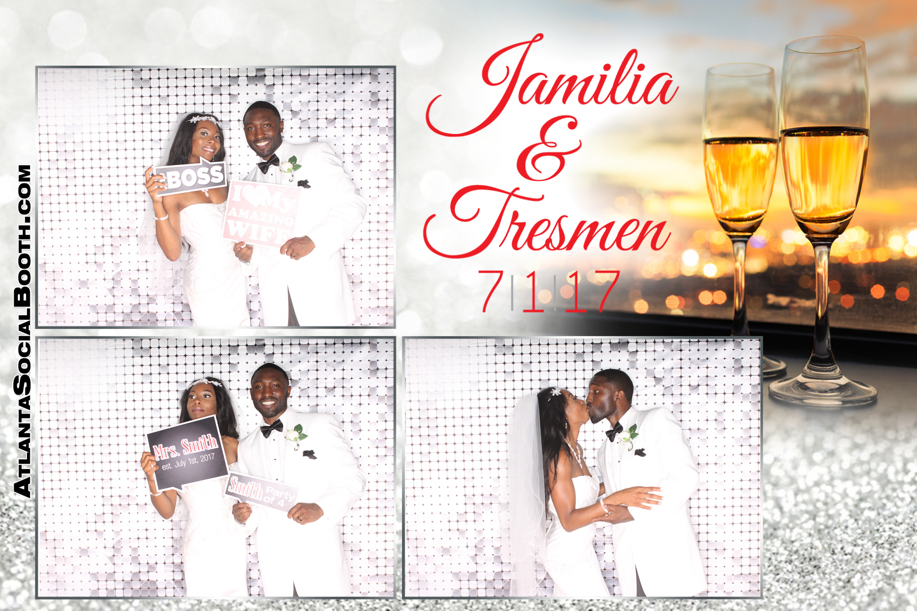 Jamilia & Tresmen Wedding