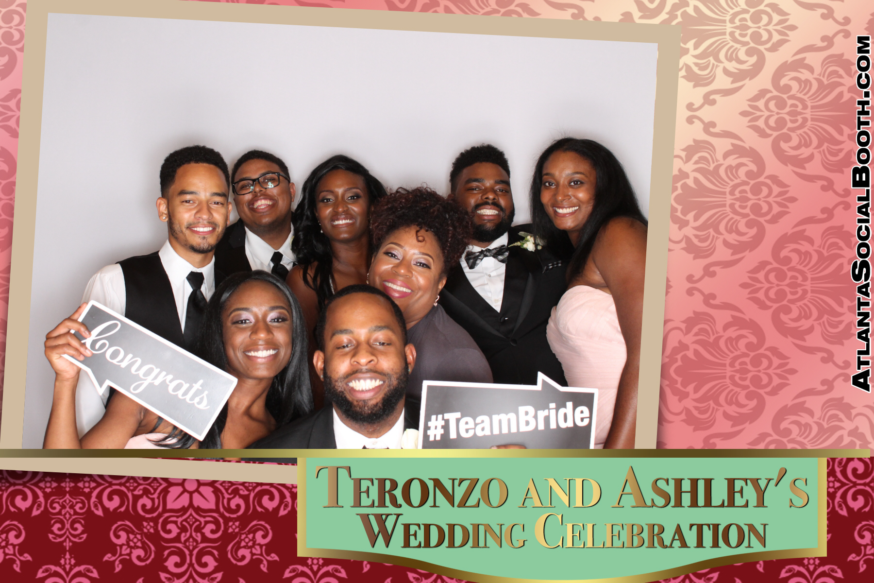 Teronzon & Ashley's Wedding