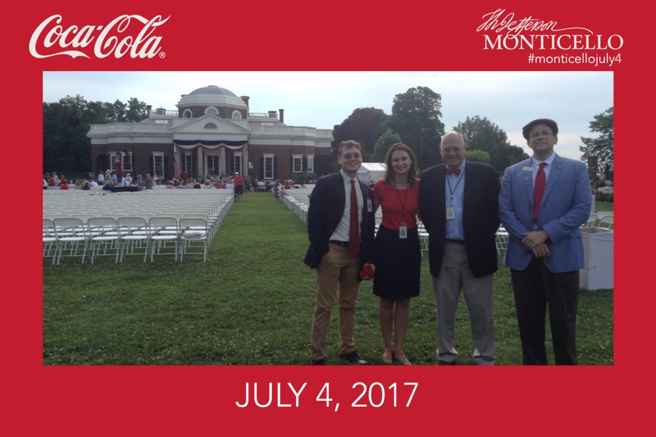 Coke Jefferson Monticello
