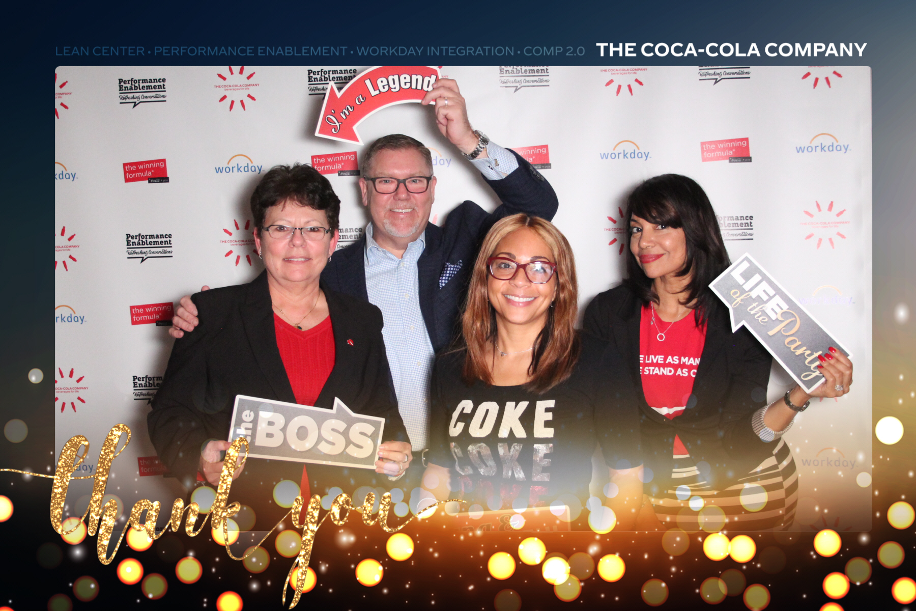 Coke Thank You Event