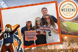 Auburn Fall Family Weekend