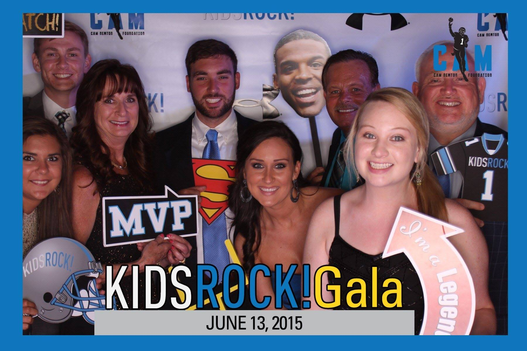 Cam Newton Foundation Kids Rock Gala