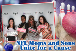 NFL Moms & Sons Unite For A Cause