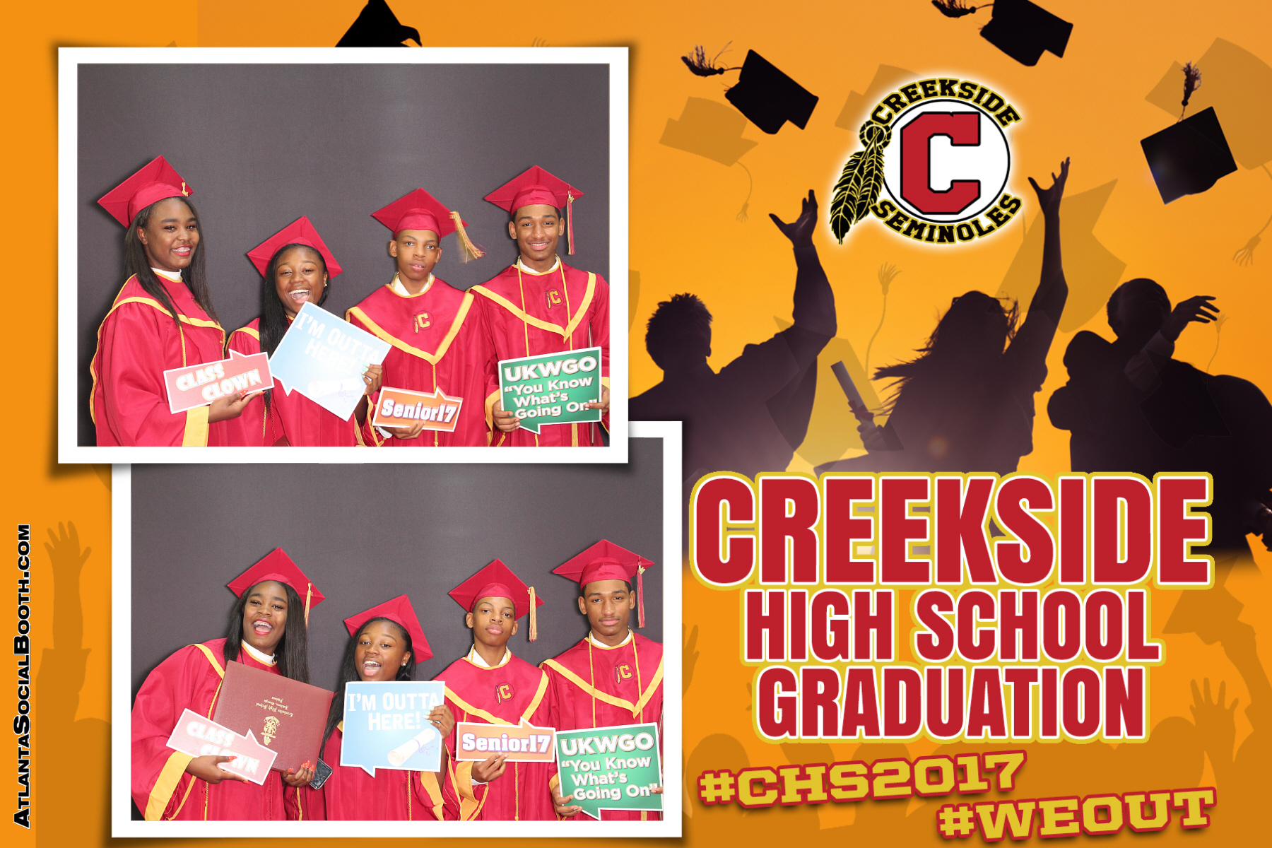2017 Creekside Graduation