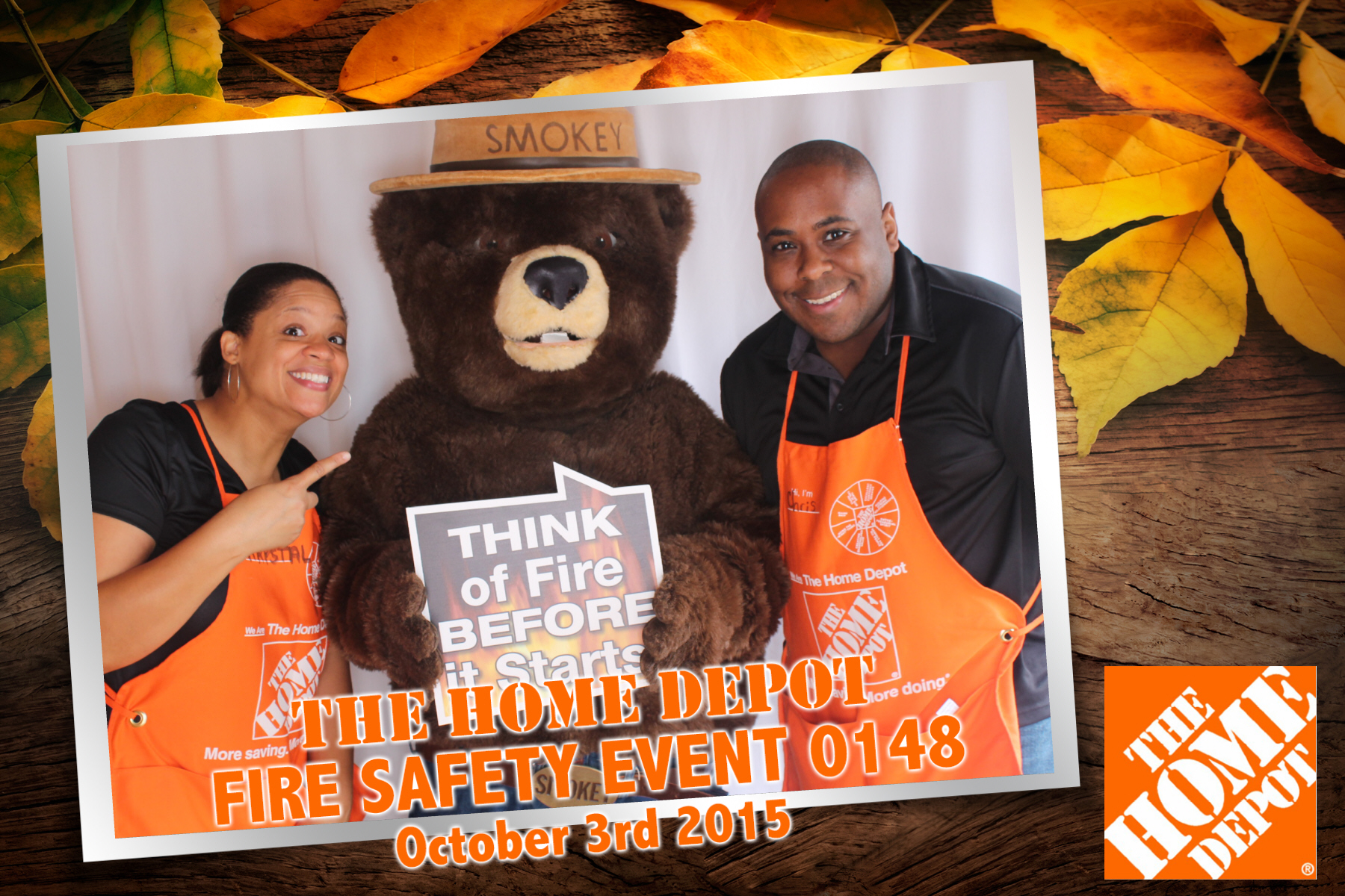 Home Depot Photo Booth