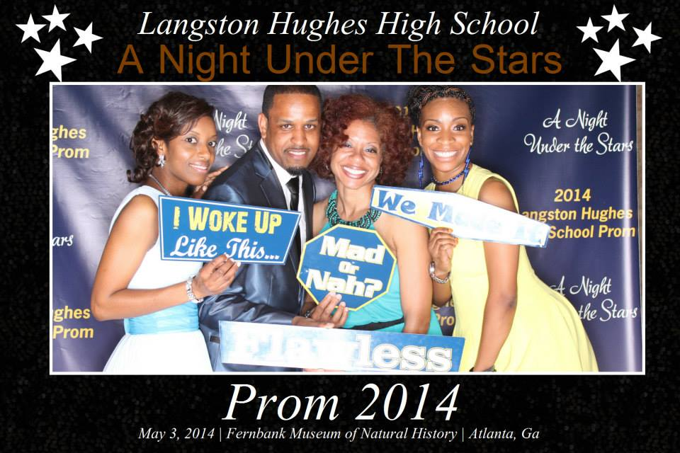 Langston Hughes HS Prom 2014
