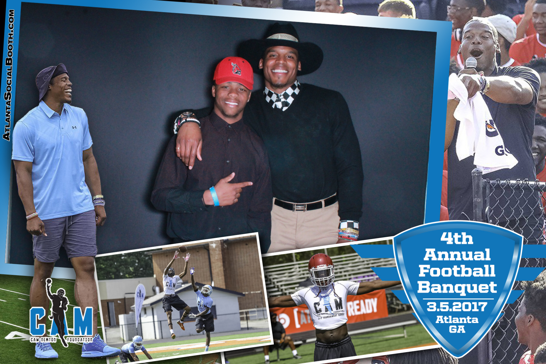 Cam Newton Football Banquet 2017