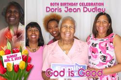 Dudley 80th Birthday Celebration