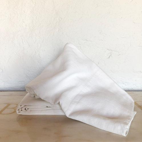 Belgian Linen Flat Sheet