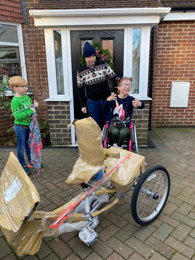 A New Bike For Lizzie!