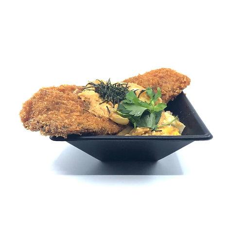 ビフカツ丼(卵とじ)