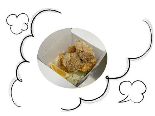 信州地鶏のさっぱりなのに旨味溢れる塩唐揚げ