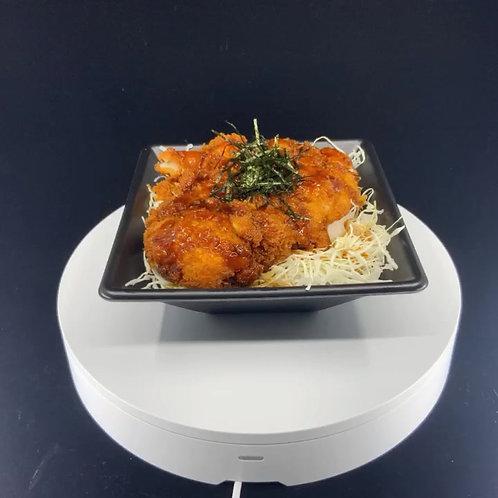 チキンカツ丼(ソース味)