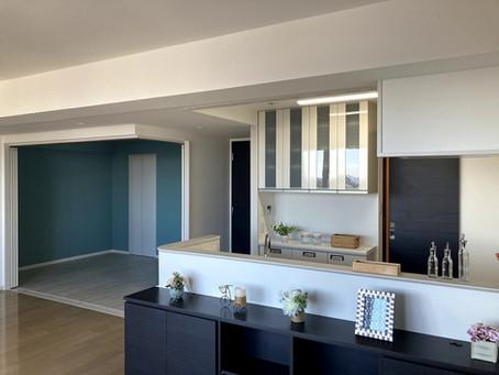 壁をとる!キッチン解放+和室→洋室でゆとり空間 / 加来