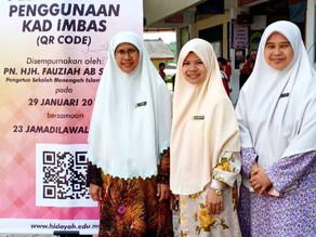 Sekolah Hidayah Johor Guna Kod QR Rekod Kelakuan Positif Pelajar