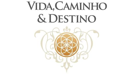 """Logo da série """"Vida, Caminho & Destino"""""""