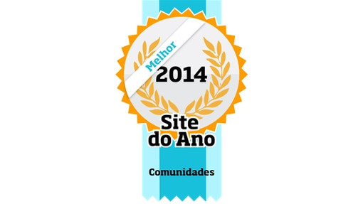 Eleita Melhor Comunidade do Brasil em 2014