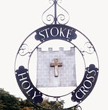 Stoke Holy Cross Village Sign