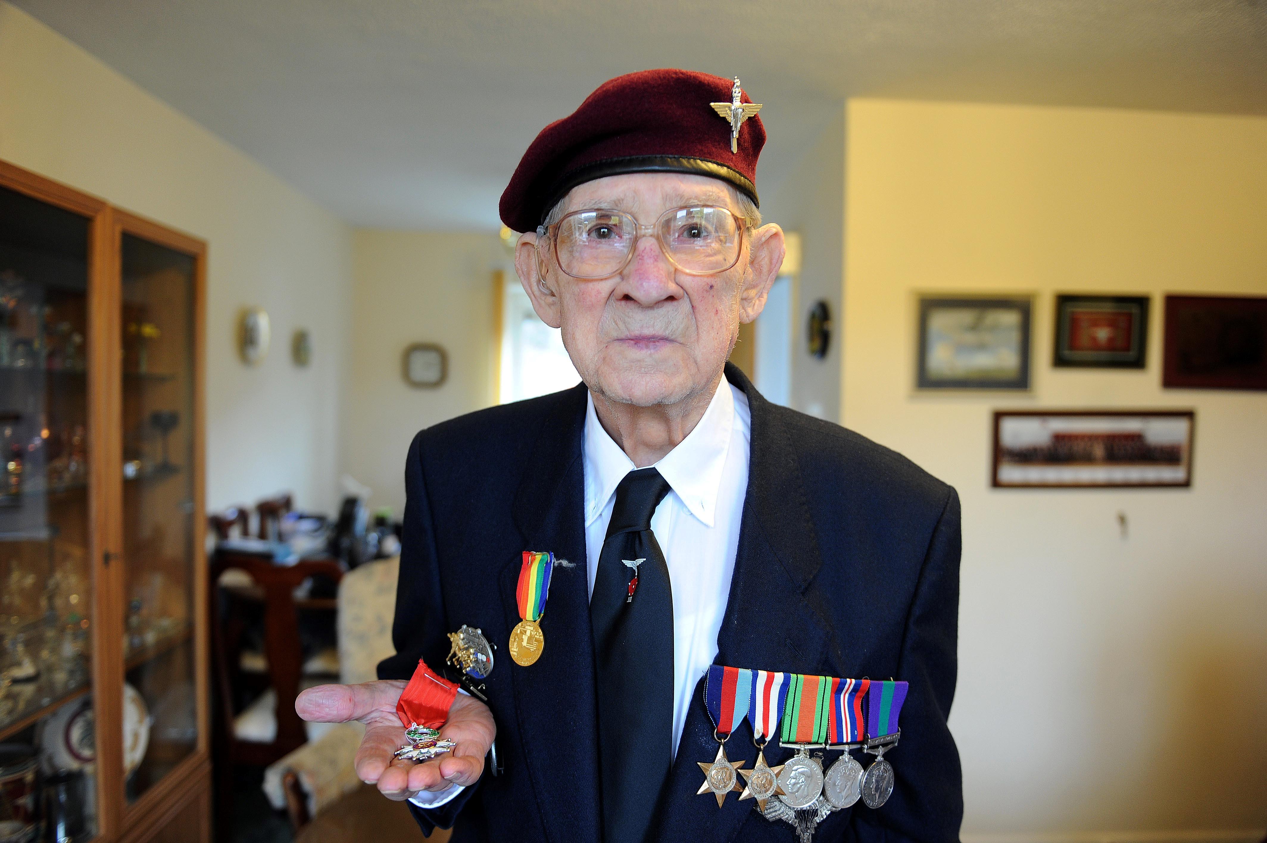 WWII veteran Donald Jones