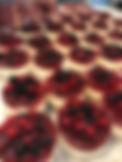 mini mixed berry cheesecake