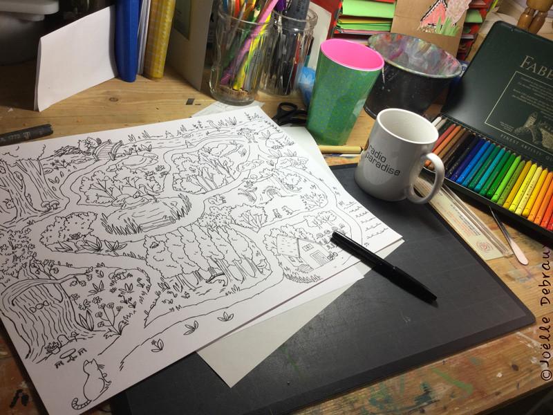 Création de coloriage