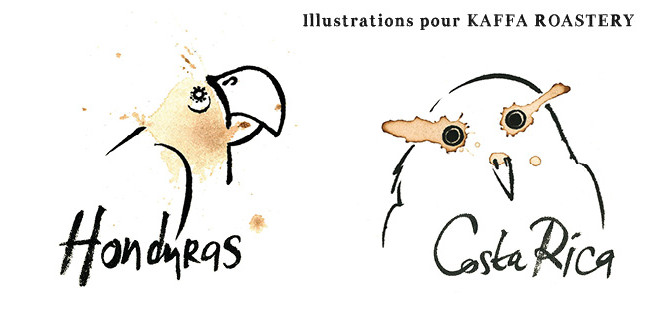 Illustrations pour Kaffa Roastery