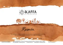 Etiquette des cafés Kaffa roastery