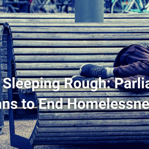 Europe sleeping rough: Parliament's plans to end homelessness