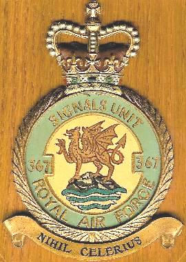 The Insignia of 367 Signals Unit, RAF