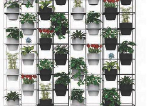 Rapid Bloom Vertical Garden
