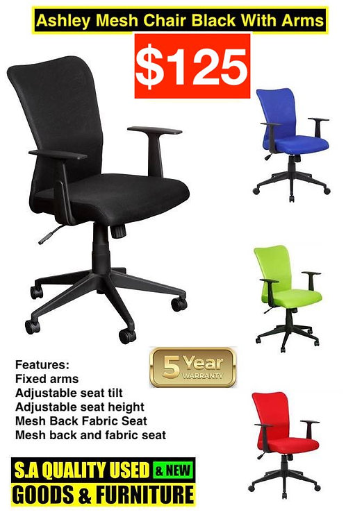 Ashley Mesh Office Chair with Armrests