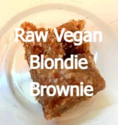 Blondie Vegan Brownies