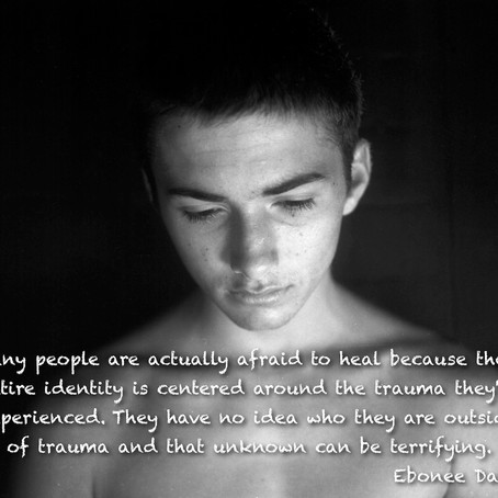 Are you afraid to heal your trauma?