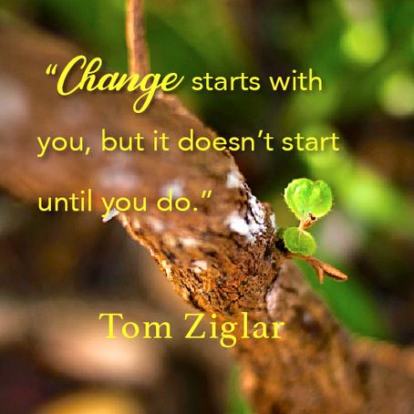 When does change start?