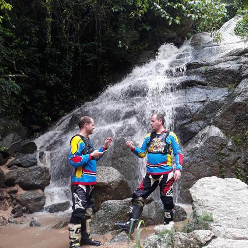 Waterfall Pit Stop