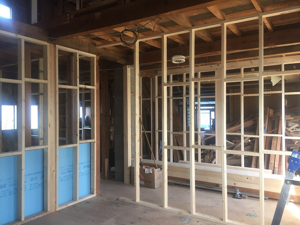Framing Up Zenibako Beach House