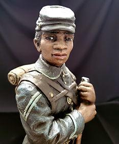 Civil War Soldier, Black Soldier Series,