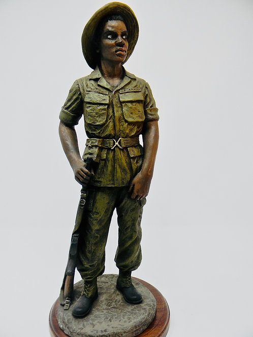 Vietnam Soldier- Painted
