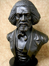 Original Bronze Frederick Douglass Bust