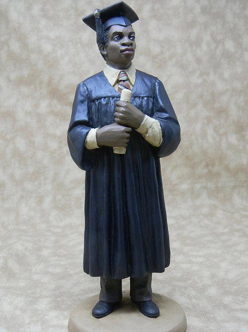 Male Graduate (Blue Robe)