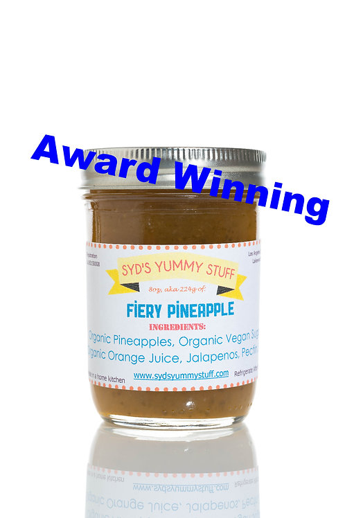 Fiery Pineapple Jam