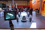 Polecam shoot at the Motor Show