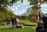 Shakesperience polecam shoot in Stratford-upon-Avon