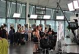 Great British Hairdresser polecam shoot