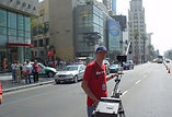 Hollywood Boulevard for the Gumball Rally