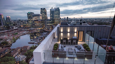 Polecam shoot at Horizons Penthouse London