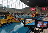 Polecam Fishface at Olympic pool for Sports Relief
