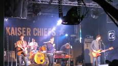 Kaiser Chiefs Amazon Prime Advert with polecam