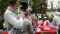 Gumball rally start with the Cuban Brothers